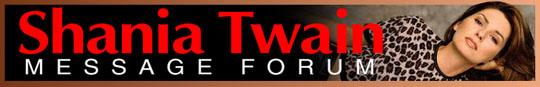 Shania Twain Forum Link
